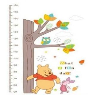 Muursticker Winnie The Pooh.Muursticker Decoratie Sticker Winnie The Pooh