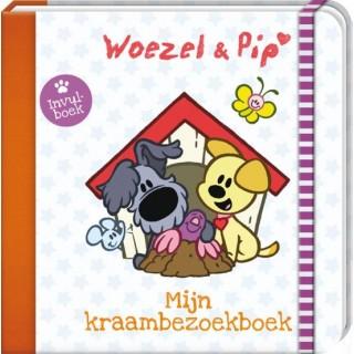 Woezel en Pip Mijn Kraambezoek boek
