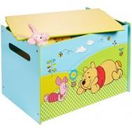 Houten speelgoedkist Disney Winnie the Pooh