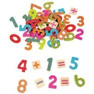Magnetische cijfers rekentekens 60 delig