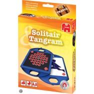 Tangram + Solitaire Reisspel