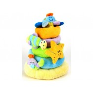 Pluche ringen piramide sealife