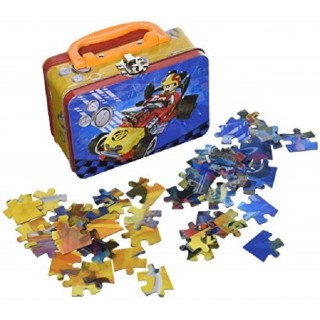 Legpuzzel Mickey Mouse Roadster 2x24 in koffertje