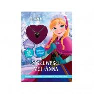 Spelletjes boek Frozen Sneeuwpret met Anna met kettinkje