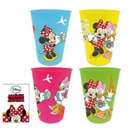 Bekers 4x van Disney Minnie