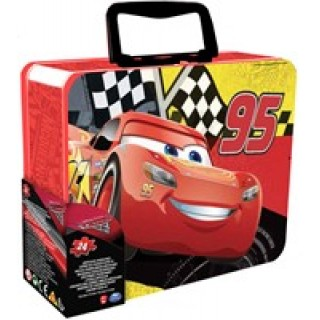 Legpuzzel Disney Cars 2x24 in koffertje