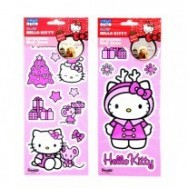 Muursticker decoratie sticker 2x Hello Kitty