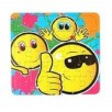Mini puzzel smile 25 pcs legpuzzel emoticon