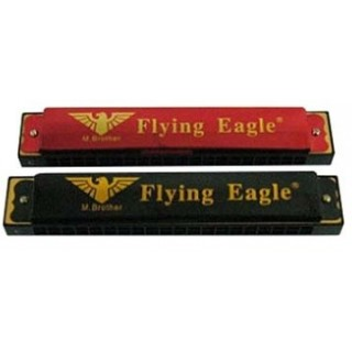 Mondharmonica metaal Flying Eagle