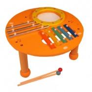 houten muziektafel xylofoon
