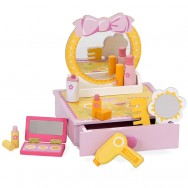 Make up set hout met accessoires