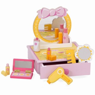 Make up set hout incl accessoires - Mentari