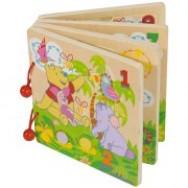 Winnie the Pooh puzzelboek hout