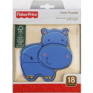 Houten puzzel Nijlpaard