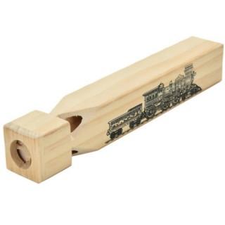 Trein fluit hout