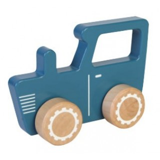 Houten tractor little dutch