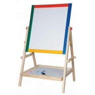 Schoolbord magnetisch whiteboard Woody