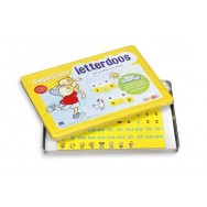 magnetische letters letterdoos rompompom