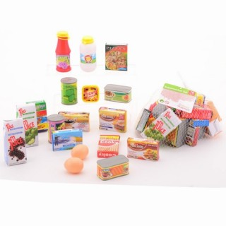 boodschappen supermarkt 18 produkten