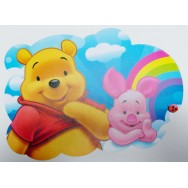 Placemat Winnie the Pooh en knorretje