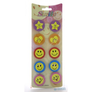 Smile decoratieve buttons