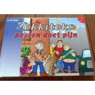 Stripboek Tokkitoks pesten doet pijn