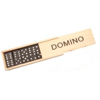 Houten domino spel
