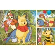 Winnie the Pooh puzzel 3 in 1