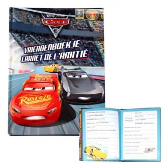 vriendenboekje Cars 3